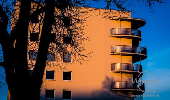 Balkone - Blickwinkel Magdeburg
