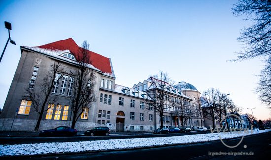 Hegel-Gymnasium - Harnackstraße - Blickwinkel Magdeburg
