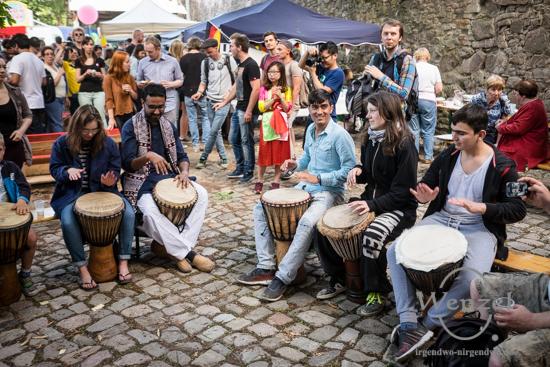 Fest der Kulturen Magdeburg - eine kulinarische und kulturelle Weltreise - Festung Mark