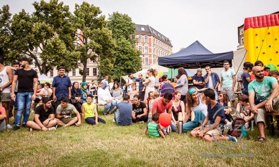 Willkommensfest – Schellheimer Platz