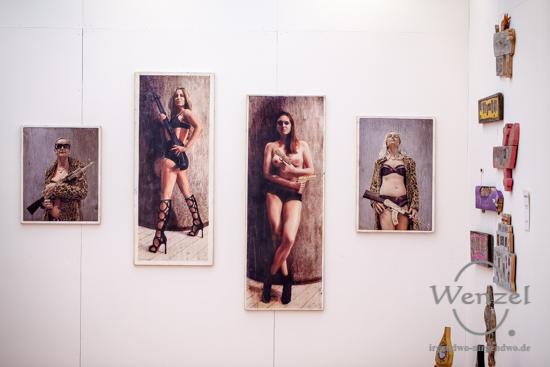 Kunstmesse Mitteldeutschland, Turmpark Salbke, zeitgenössische Kunst, KUNST/MITTE, Magdeburg –  Foto Wenzel-Oschington.de