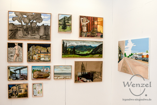 Paul Kaminski, Kunstmesse Mitteldeutschland, Turmpark Salbke, zeitgenössische Kunst, KUNST/MITTE, Magdeburg –  Foto Wenzel-Oschington.de