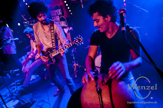 Reeperbahn Festival 2016 - Imarhan - Molotow –  Foto Wenzel-Oschington.de