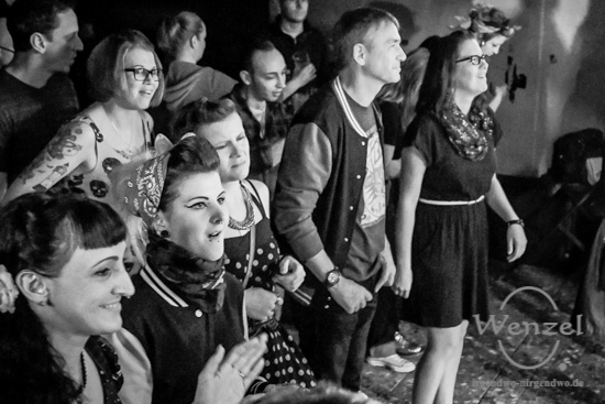 Boppin' B,  Rock'n'Roll, Rockabilly, Studentenclub Baracke, Magdeburg –  Foto Wenzel-Oschington.de