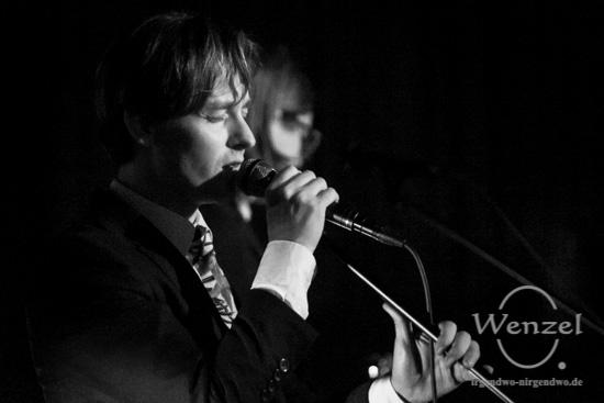 Tom Schilling & The Jazz Kids, Konzert, OLI Kino, Magdeburg, Filmkunsttage Sachsen-Anhalt,  Café Central Magdeburg –  Foto Wenzel-Oschington.de