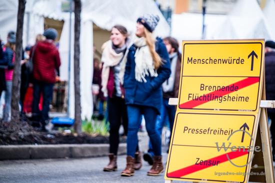 Meile, Demokratie, Magdeburg, 2017 –  Foto Wenzel-Oschington.de