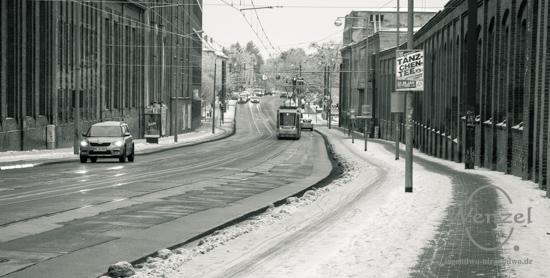 Winter, Buckau, Spaziergang –  Foto Wenzel-Oschington.de