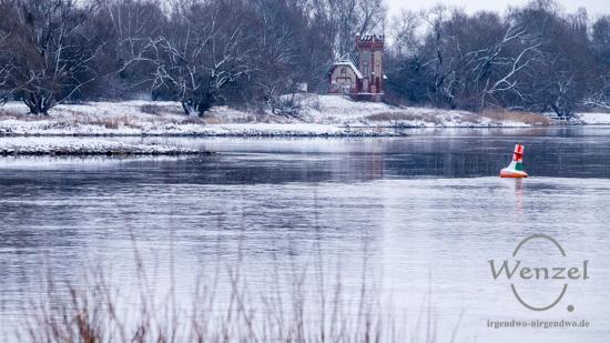 Winterspaziergang, Rotehorn,  Stadtpark, Magdeburg –  Foto Wenzel-Oschington.de