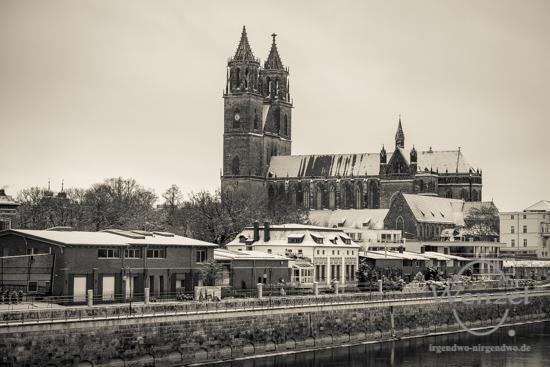 Winterspaziergang, Magdeburg, Dom –  Foto Wenzel-Oschington.de