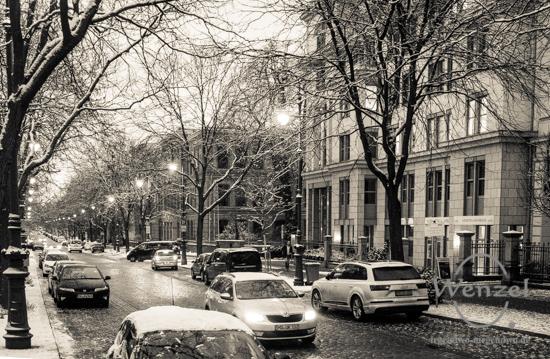 Winterspaziergang, Magdeburg, Hegelstraße –  Foto Wenzel-Oschington.de