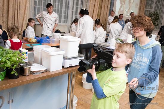 Kinder, Koch, Show, Bürgerstiftung, Magdeburg, Ratswaage, Hotel –  Foto Wenzel-Oschington.de