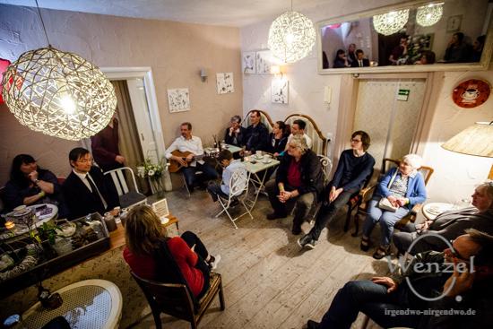 ECOC 2025, European Capitals of Culture, Kulturhauptstadt Magdeburg, Magdeburg 2025, Ottostadt, Kulturnacht, Anschlagen, 2017, Sudenburg, Schönedinge Café, Improvisationstheater, Tapetenwechsel –  Foto Wenzel-Oschington.de