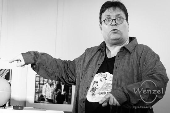 ECOC 2025, European Capitals of Culture, Kulturhauptstadt Magdeburg, Magdeburg, Magdeburg 2025, Ottostadt, Lars Johansen, Kabarett, Kabarettist, Magdebürger, Lars' Bastelbude, MDR, Alles gut, Optimisten, Muss ja, Kultur –  Foto Wenzel-Oschington.de