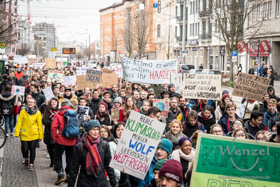 Internationaler Schulstreik - Fridays For Future –  Foto Wenzel-Oschington.de