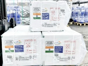 Vaccines en route from India to Jamaica