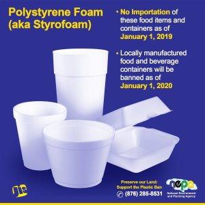 JET calls on government not to delay the January 1 ban on styrofoam