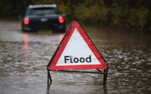 Several St. Thomas roads flooded