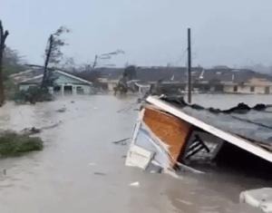 Category 5 hurricane Dorian batters parts of the Bahamas