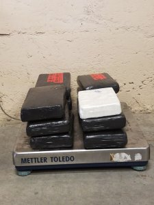 Cocaine worth $14 million seized at Norman Manley Airport