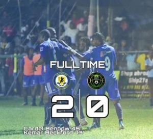 Mount Pleasant are the new leaders in the Red Stripe National Premier Football League