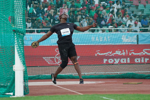 Dacres throws new national and Diamond league record in Rabat