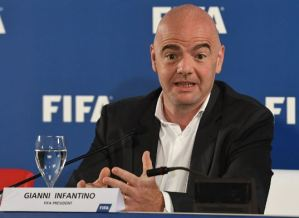 Gianni Infantino has warned against re-starting soccer too early