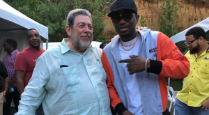 Prime Minister of St. Vincent and The Grenadines welcomes Busy Signal