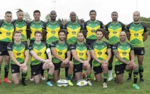 Local rugby players Khamisi Mckain and Jenson Morris off to England