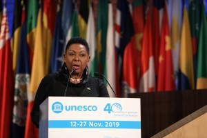 Grange calls on UNESCO to advance a global priority plans for SID's