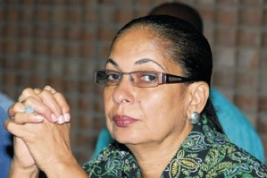 Labour and Social Security Minister, Shahine Robinson hospitalized