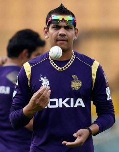 Mystery spinner Sunil Narine in another mysterious bowling web