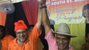 Golding supports Bunting in PNP Presidency challenge