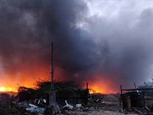 Over five million dollars worth of property destroyed by fires in St. Ann, last month