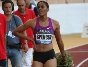 Kaliese Spencer lone Jamaican winner as Fraser-Pryce & Campbell-Brown lose