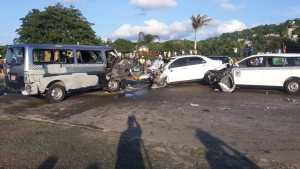 RSU reports 2 dead, several others injured in Mobay crash