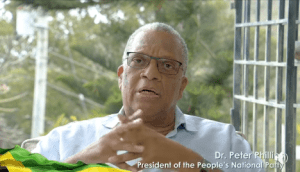 PNP President Dr Peter Phillips has colon cancer