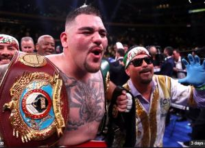 Andy Ruiz Jr. seems unhappy with the venue choice for the Anthony Joshua rematch