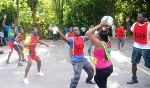 Stewarding wins Beaches Negril Netball Title