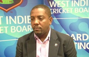 West Indies President Dave Cameron in a financial race against time