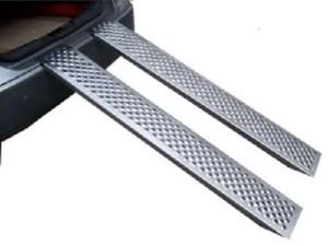 Aluminium oprijplaat model G