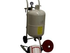 Zandstraalketel 40 liter