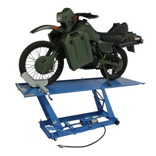 motorfiets hefbrug