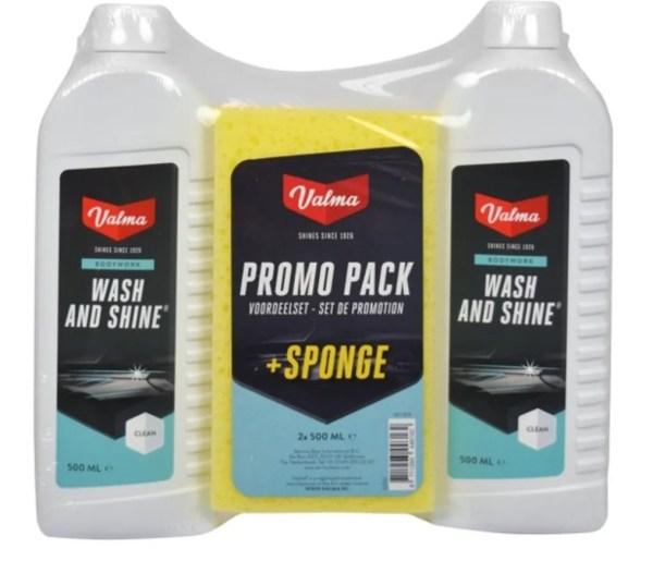 Valma S05G 2x500ml Wash&Shine+Spons