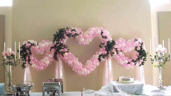 Оформление свадьбы и других праздников воздушными шарами ...