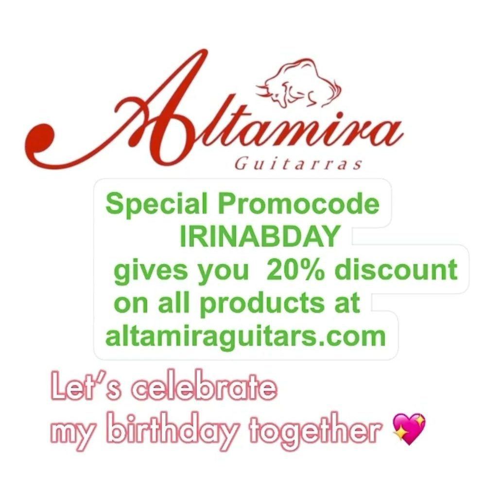 20% Discount at Altamira Guitars