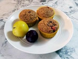 CSA Week 9 & Oatmeal Plum Muffins