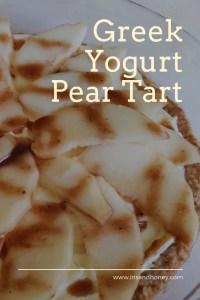 Greek Yogurt Pear Tart