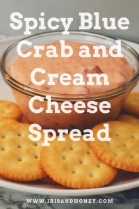Spicy Blue Crab and Cream Cheese Spread
