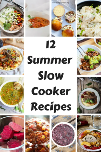 12 Summer Slow Cooker Recipes