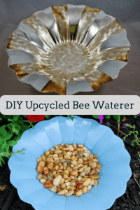 DIY Bee Waterer
